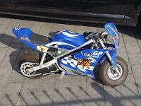 Razor rechargeable bike motorbike pocket rocket 15mph