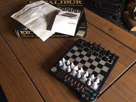Rare Excalibur Saber III - Electronic Chess Computer 901E-3