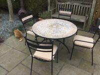 Marks and Spencer's Mediterranean style patio furniture