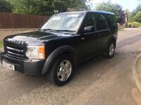 LandRover Discovery 3 Tdv6 7 Seater low road tax