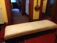 Victorian, upholstered day bed