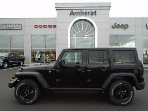 2016 Jeep Wrangler Unlimited SPORT 4X4 Power Windows, Two Tops,