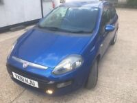 Fiat punto 1.2 new shape 2011 comes with bluetooth and extras full mot history, only 52k miles