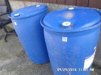 Barrels ,,,,plastic