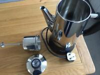 Coffee perculator New Silver