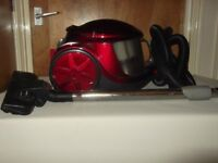 Burgundy Vacuum cleaner 1600 watts in an excellent condition, Bagless, HEPA filter. £40.00