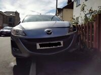 Mazda 3 2009 Plate involved in Cat C collision left passenger side everything else in good condition