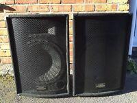 2x KAM zp15 passive loudspeakers