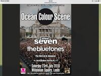 4 Ocean Colour Scene Tickets Leeds supported by Shed 7 & The Bluetones