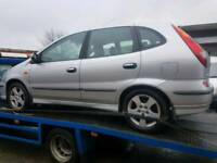 Nissan almera tino2004 petrol breaking for parts