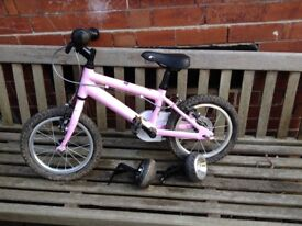 Ridgeback Honey 14 inch girls bike