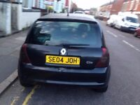 RENAULT CLIO SPORT BLACK 3 DOOR 2004