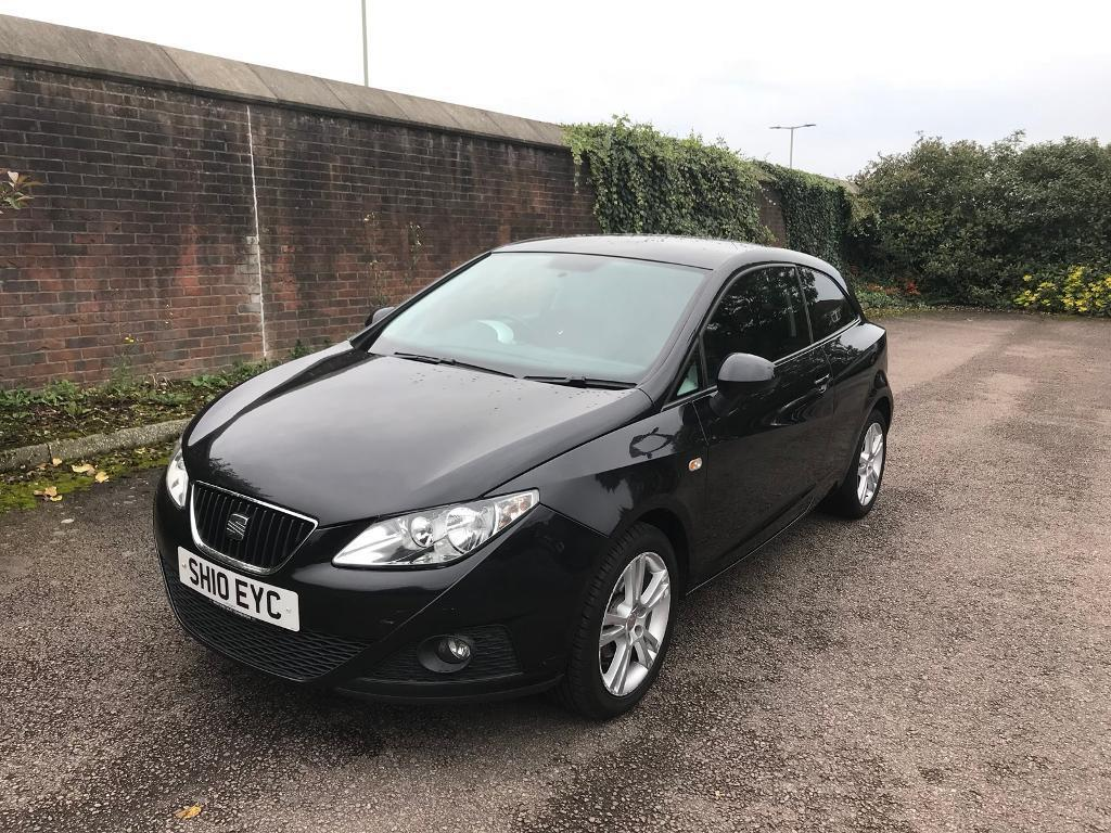 Seat ibiza 1.6 16v sport coupe dsg 3dr-hpi clear- low miles 46k-part ex welcome