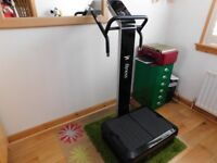 JTX Salon Fit S2 Vibration Plate, 18 months old and less than 1/4 of original price