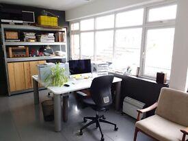 Desk spaces in architect's studio - Clapham SW4