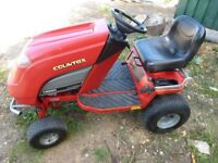 "Countax C600H Ride On lawn Mower c/w 44"" mulching deck, grass deck, honda engine"