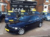 BMW 3 SERIES 2.0 318Ci 2dr AUTOMATIC Coupe Full Service History, Long MOT, Low Miles