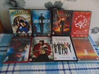 8 x dvd films for sale