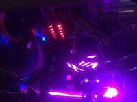 OC ASUS NVIDIA GeForce GTX 1080TI ROG Strix Edition 11 GB GDDR5X 1708 MHz PCI Express 3 - Black