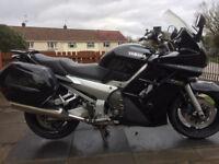 Yamaha FJR 1300, Black, 51137 miles £2,500 ono