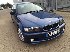 Bmw 320d automatic saloon, m sport with full sport leather seats, very good condition, 2003 diesel