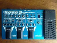 Boss multieffects ME50