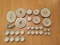 PRICE REDUCTION - Royal Doulton 'Old Colony' Dinner Service ... 72Pieces