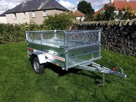 New car trailer 7.7 x4.1 and mesh - £800 inc vat