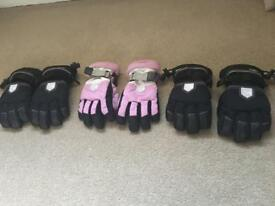 Kids Ski Glove Bundle - 3 pairs