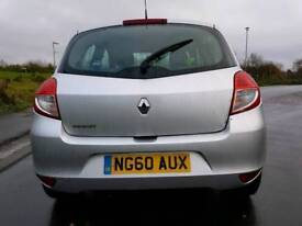 2011 Renault Clio 1.2 I-Music 3drwith AIR CON BLUETOOTH 10 MONTHS CLEAN MOT ALLOYS FSH 1 OWNER