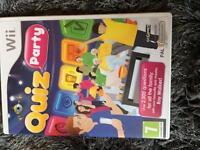 Wii quiz party