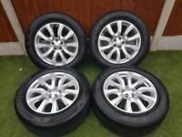 Land rover alloys & tyres