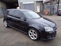 2006 VOLKSWAGEN GOLF 2.0 TFSI GTI TURBO 5 DOOR HATCHBACK BLACK 200 BHP
