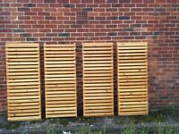 Large Heavy Solid Pine Wooden Racking/Shelving