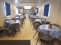 Diner; Fully fitted and ready to operate. Would suit Fishing Lakes or Holiday Park