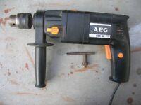 AEG ELECTRIC DRILL 500w. With Depth Gauge