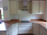 Total kitchen in very good condition. Only for sale as enlarging kitchen - too good to throw away