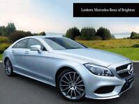 Mercedes-Benz CLS CLS220 D AMG LINE PREMIUM PLUS (silver) 2016-04-29