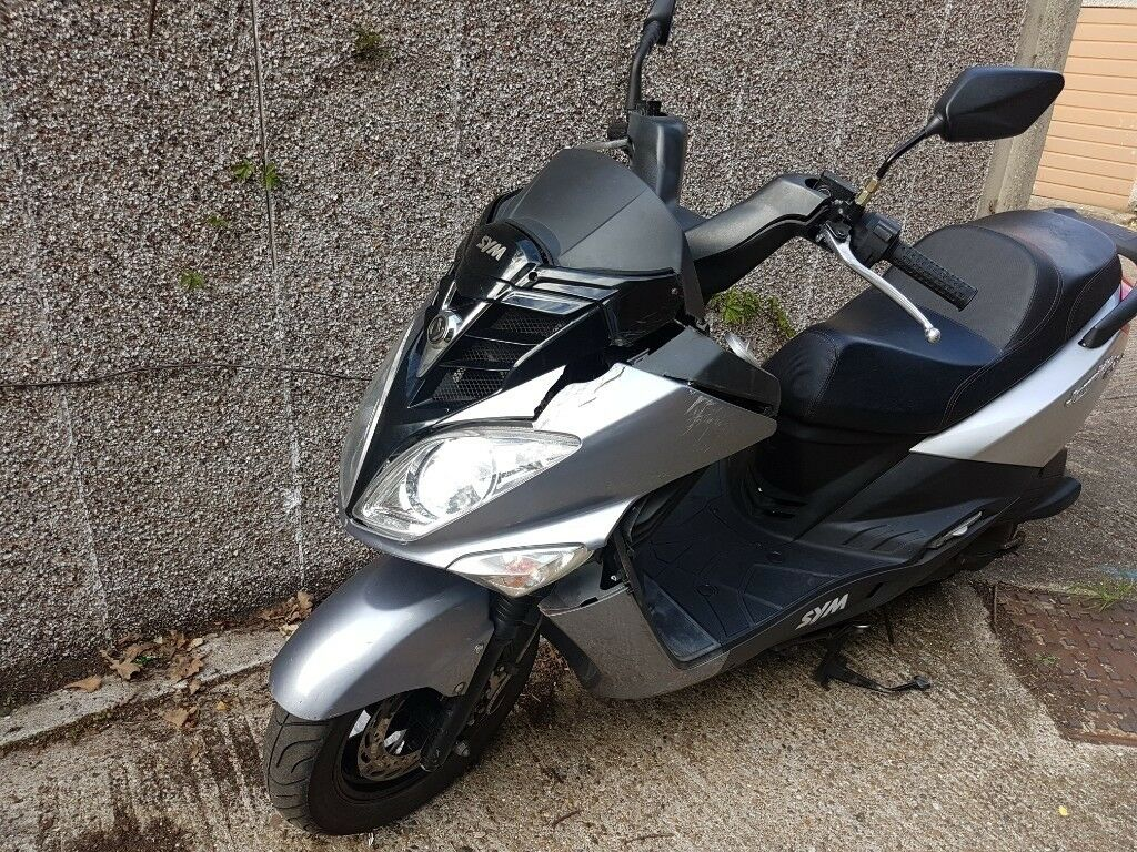 מצטיין Sym Joyride 125 EVO 2016 damaged spares or repair project LOW HR-89