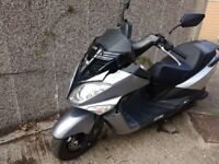Sym Joyride 125 EVO 2016 damaged spares or repair project LOW PRICE (quality yamaha or honda)