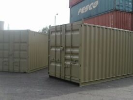 15 foot by 8 foot shipping container