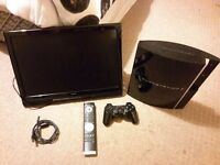 """Great condition 19"""" and PS3"""