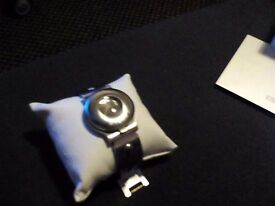 Vintage storm stainless steel micro camera watch