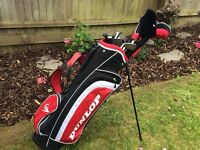 Golf Clubs and bag. Nearly new.