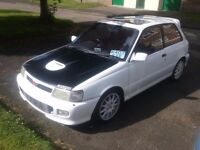 Starlet gt turbo open to px swap for modified track car or type r vrs or gti