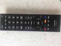 Toshiba tv remote