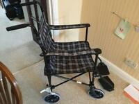 Lightweight foldable/ Transit Wheelchair Coopers