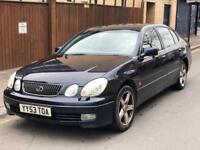 LEXUS GS300 ONLY 2 FORMER KEEPER+FULL SERVICE HISTORY+AUTOMATIC +LOW MILES +MOT