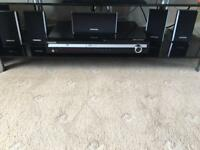 Samsung DVD and surround sound speakers