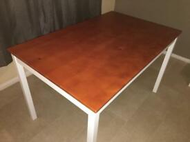 solid pine table reduced need gone asap